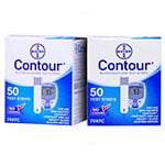 Bayer Contour Glucose Test Strips Box of 100