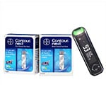Contour Next One Blood Glucose Meter Kit + 100 Test Strips thumbnail