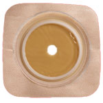 SUR-FIT Natura Stomahesive Flexible Wafer w/Flange Tan 5