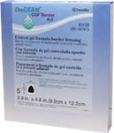 DuoDERM CGF Border Dressing - 3.9 inch x 4.8 inch - 187973 - Box of 5