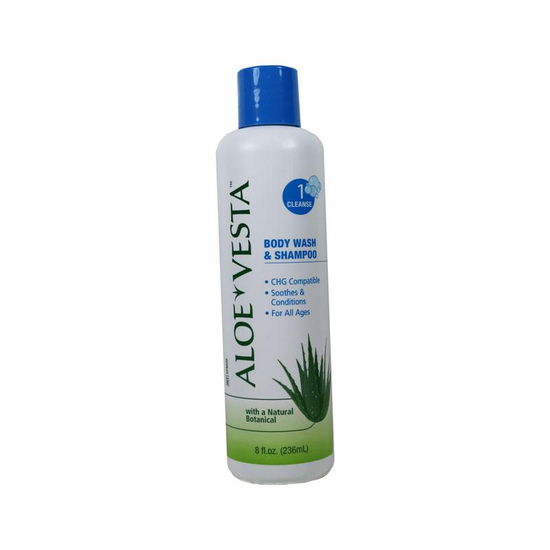Convatec Aloe Vesta Body Wash and Shampoo 8oz