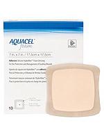 Convatec Aquacel Gelling Adhesive Foam Dressing 7