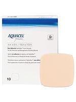 Convatec Aquacel Gelling Non-Adhesive Foam Dressing 4 inch x 4 inch 10/bx 420633