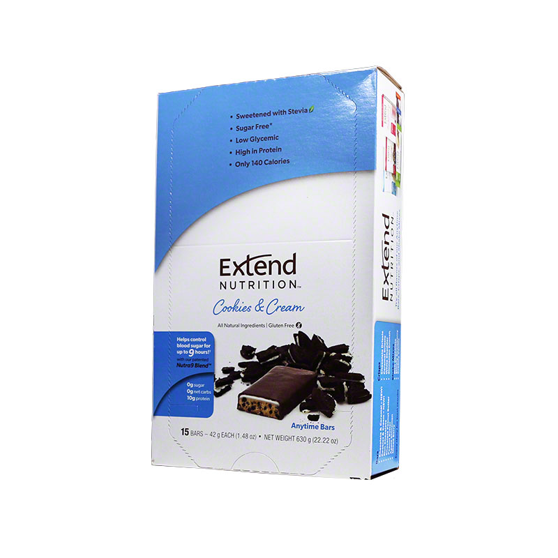 ExtendBar Cookies N Cream Case of 15