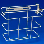Sharps-A-Gator Locking Bracket for 2 & 3 Gallon Container - Case of 5 thumbnail