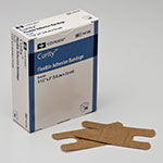 Covidien Curity Flexible Fabric Knuckle Bandage 1.5x3 120ct thumbnail