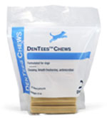Dechra Dentees Chews DentAcetic Pet Treats 5lb Bag 3-Pack