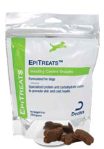 Dechra EpiTreats Healthy Canine Snacks 8oz Pack of 6