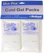 Dia-Pak Replacement Ice Packs Small - Pack of 2