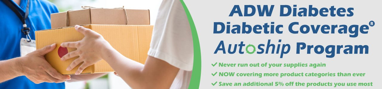 ADW Diabetes Diabetic Coverage® Autoship Program