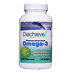 Diachieve Omega-3 Dietary Supplement 90/btl 6-Pack