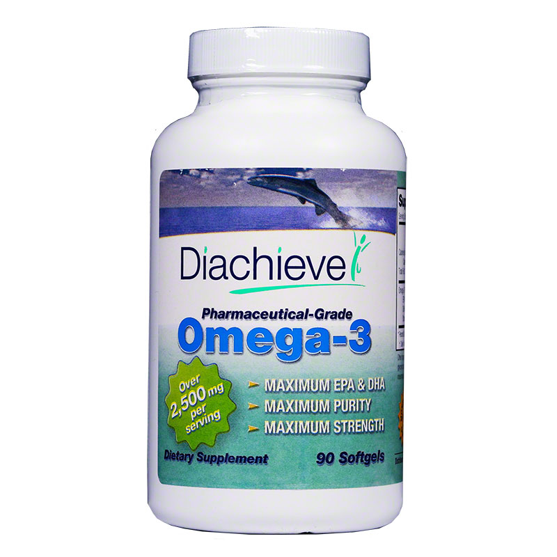 Diachieve Omega-3 Dietary Supplement 90/btl