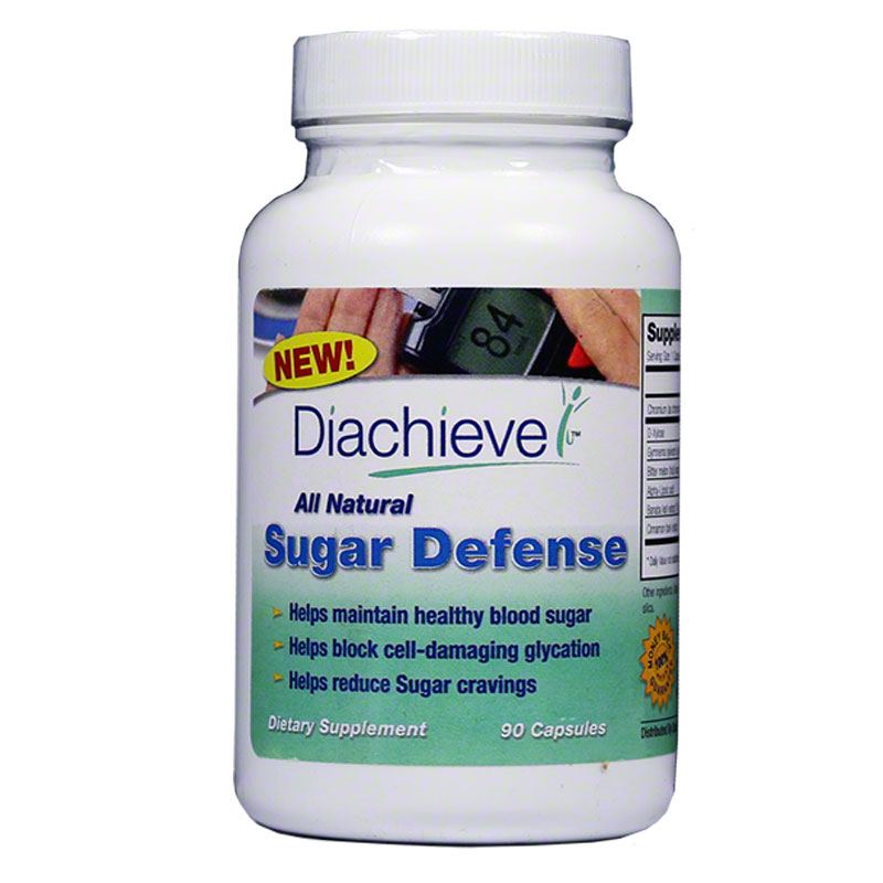 Diachieve All Natural Sugar Defense 90/btl Case of 3