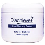 Diachieve Diabetic Foot Care Cream 4oz - 2 pack
