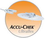 Disetronic AccuChek Ultraflex I Infusion Set, 8mm, 24