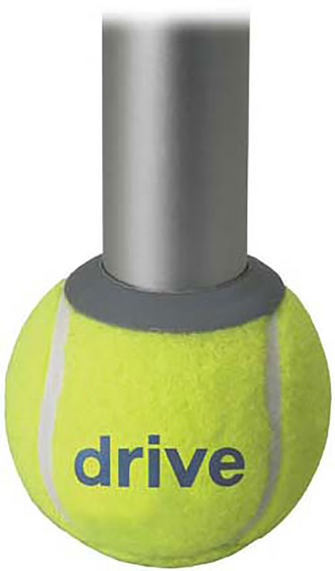 Drive Medical Deluxe Walker Rear Tennis Ball Glides - 10119