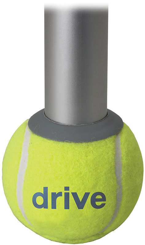 Drive Medical Tennis Ball Glides w/Replacement Pads - 10121