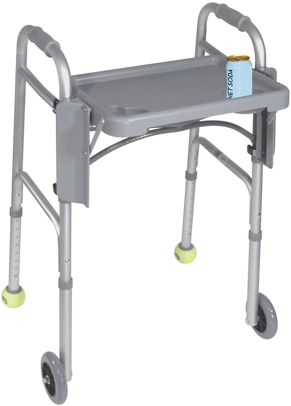 Drive Medical Walker Tray w/Cup Holders - 10125