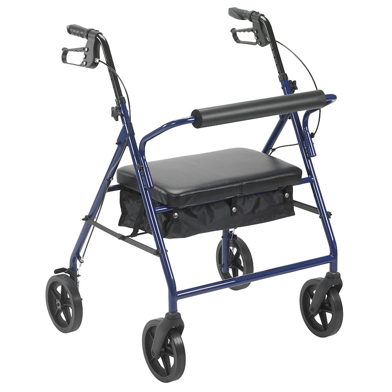 Drive Medical Bariatric Rollator with 8