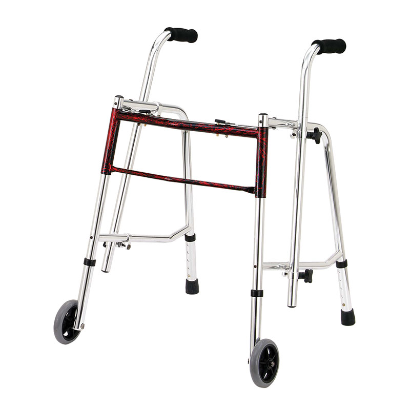 Drive Medical Flame Red Glider Walker