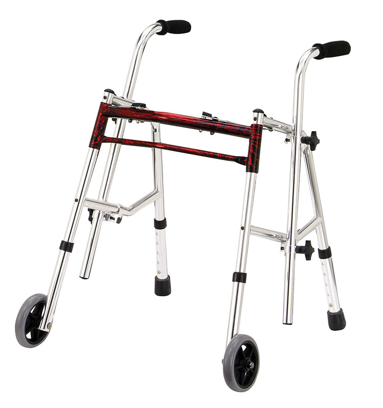 Drive Medical Flame Red Junior Glider Walker