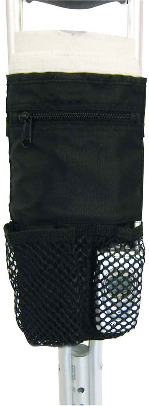 Drive Medical Deluxe Universal Cane / Crutch Nylon Carry Pouch Black