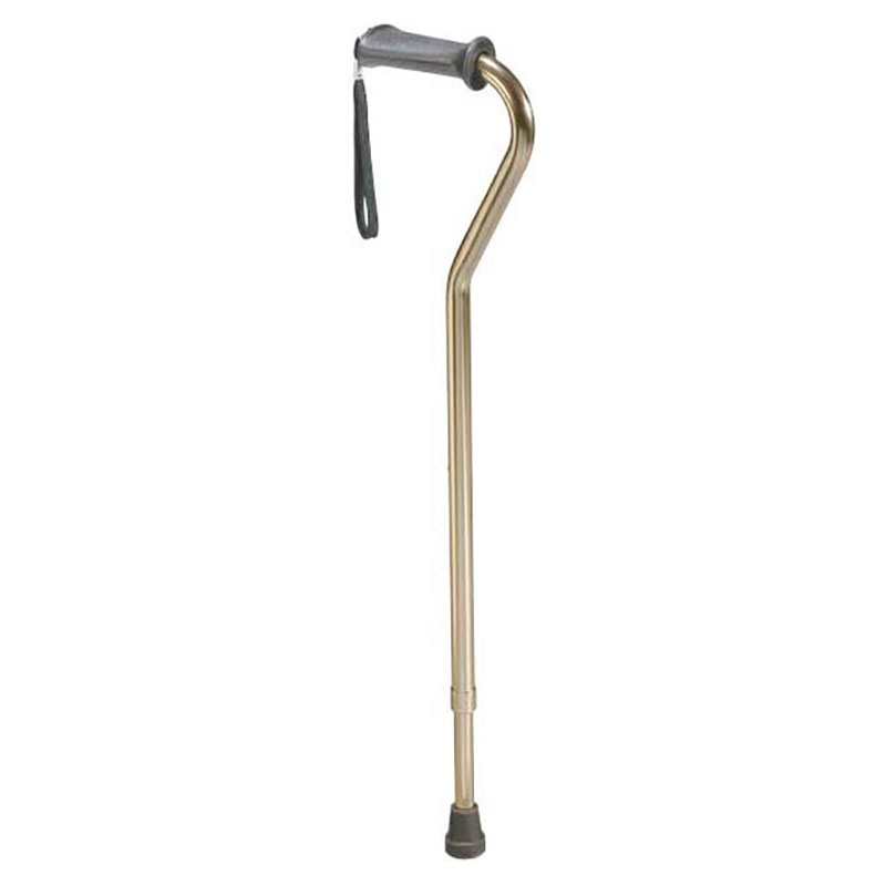 Drive Medical Aluminum Rehab Ortho K Grip Cane Bronze