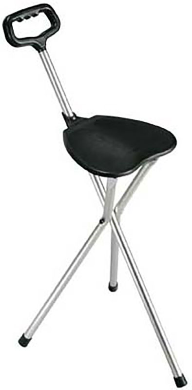 Drive Medical Cane Seat Silver Black