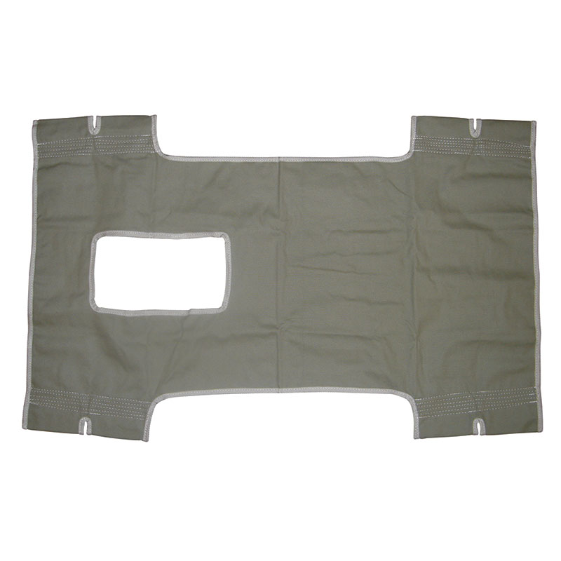 Drive Medical Canvas Patient Lift Sling with Commode Cutout