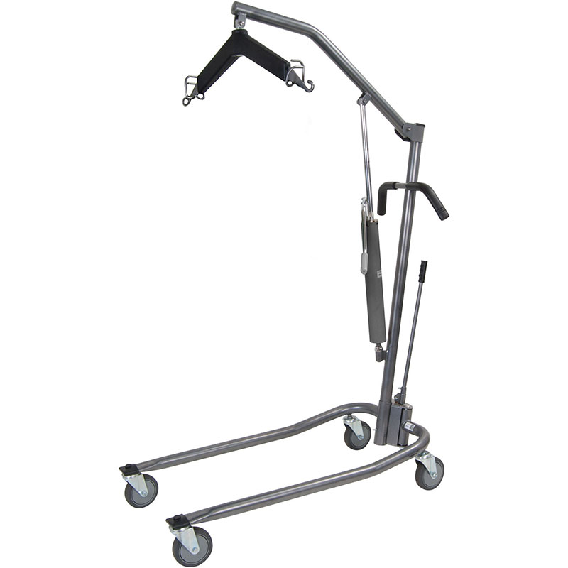 Drive Medical Silver Vein Hydraulic Patient Lift With 6-Pt Cradle
