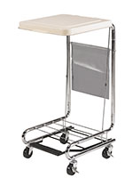 Drive Medical Hamper Stand with Poly Coated Steel thumbnail