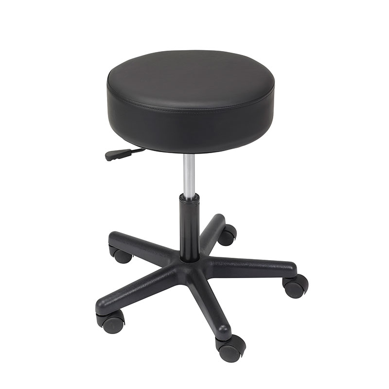 Drive Medical Padded Seat Revolving Pneumatic Adjustable Height Stool
