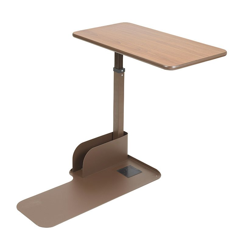 Drive Medical Seat Lift Chair Left Side Overbed Table