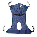 Drive Medical Full Body Patient Lift Sling with Commode Cutout 13221L