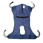 Drive Medical Full Body Patient Lift Sling with Commode Cutout 13221XL