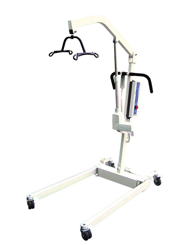 Drive Medical Bariatric Electric Patient Lift w/Battery & 4-Pt Cradle