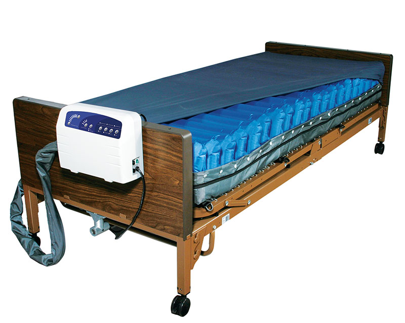 Drive Medical Med Aire Low Air Loss Mattress System With Alarm