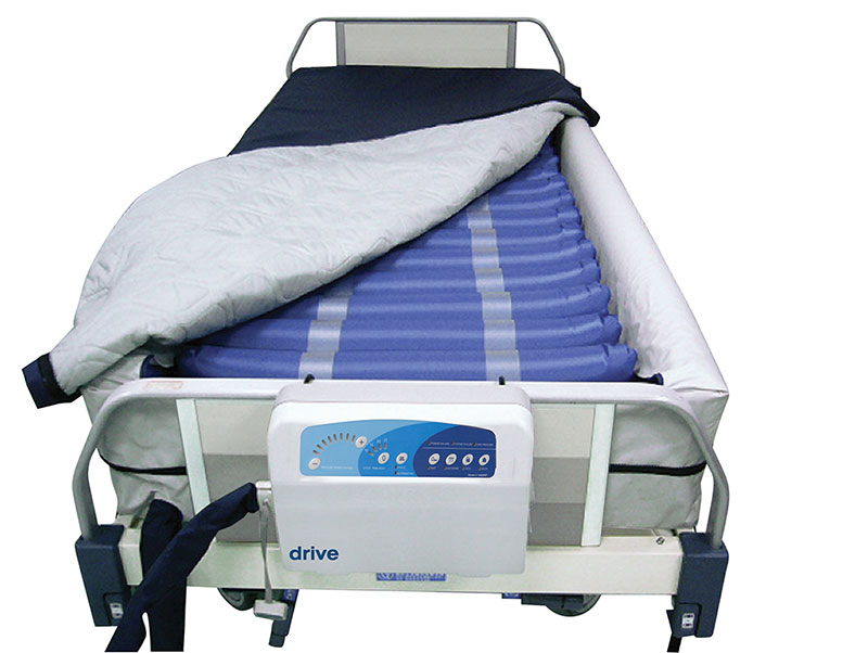 Drive Medical Med Aire 8 inch Low Air Loss Mattress System With Alarm