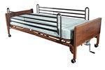Drive Medical Delta Electric Bed w/Full Rails & Mattress 15033BVPKG2 thumbnail