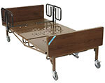 Drive Medical Full Electric Bariatric Hospital Bed with T Rails thumbnail