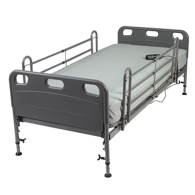Drive Medical Competitor Semi-Electric Bed with Mattress