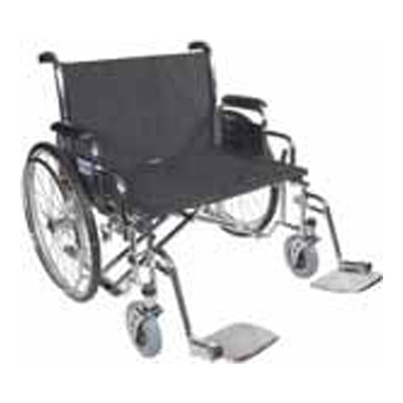 Drive Medical 26 Inch Sentra EC Heavy-Duty Wheelchair - STD26ECDDA