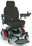 Drive Medical Image EC Mid Wheel Drive Power Wheelchair 2800ECBURCL