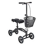 Drive Medical Dual Pad Steerable Knee Walker with Basket thumbnail