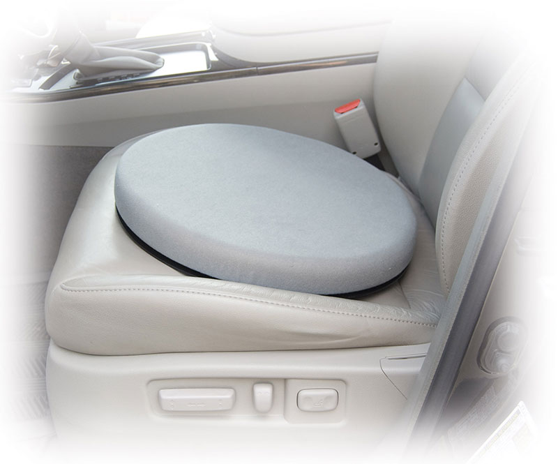 Drive Medical Padded Swivel Seat Cushion w/Carry Straps