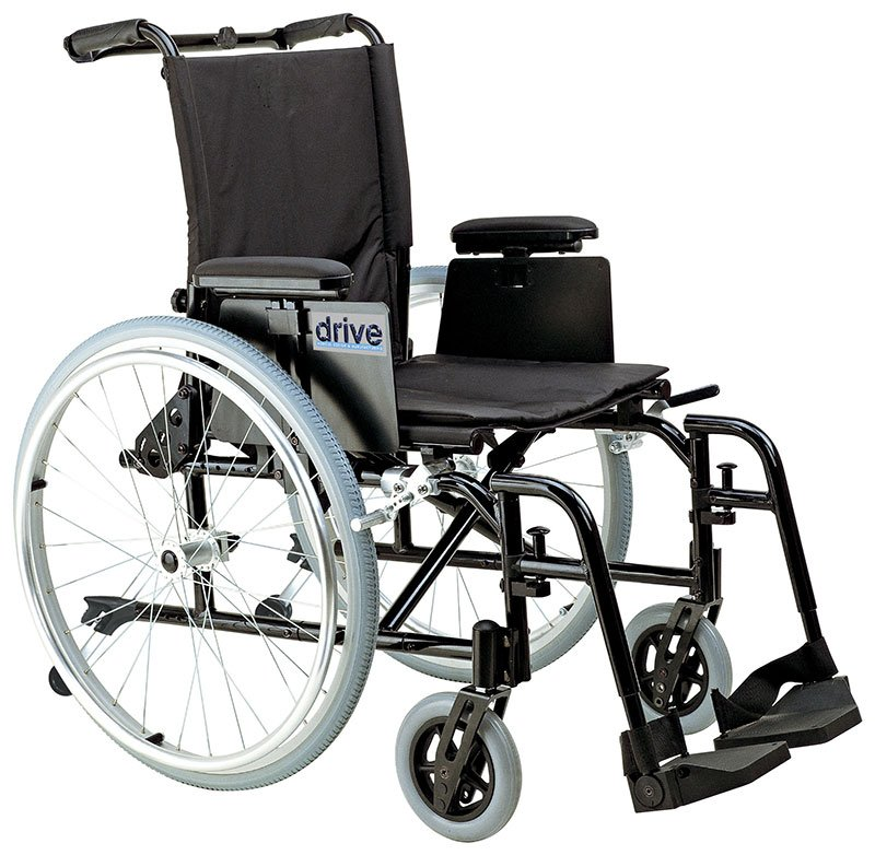 Drive Medical 16 Inch Cougar Ultra Light Wheelchair - AK516ADAAELR