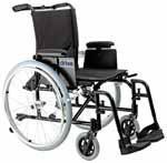 "Drive Medical 18"" Cougar Ultra Light Wheelchair - AK518ADAAELR thumbnail"