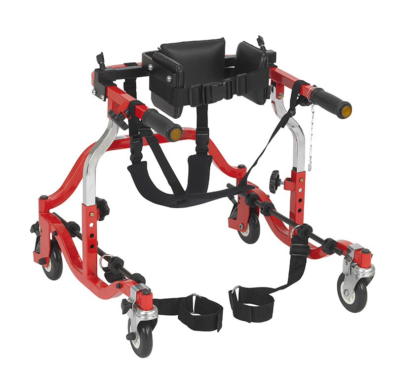 Drive Medical Tyke Comet Red Anterior Gait Trainer