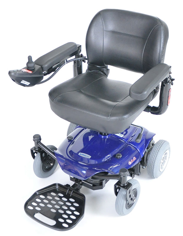 Drive Medical Blue Cobalt Travel Power Wheelchair