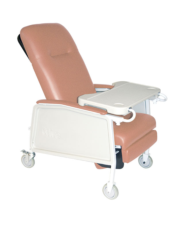 Drive Medical 3 Position Rosewood Geri Chair Recliner